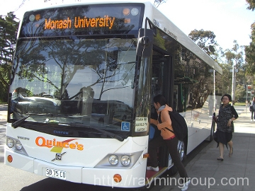 Monash shuttle bus